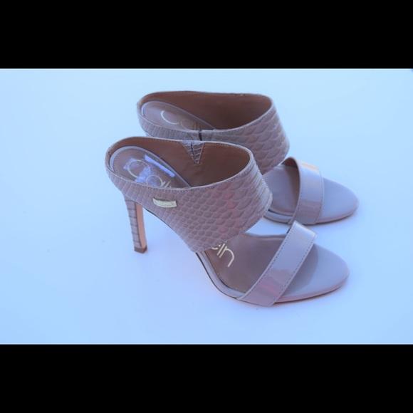 f91a8c4f12 Calvin Klein Shoes | Shayna Heels | Poshmark